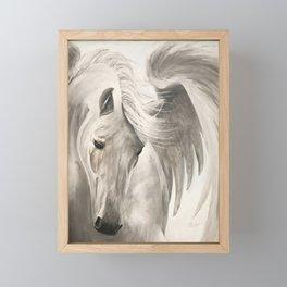 Untamed Pegasus Framed Mini Art Print