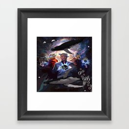 The Power of 3 Framed Art Print