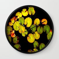pacman Wall Clocks featuring Pacman by Chris' Landscape Images & Designs
