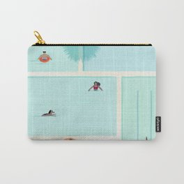 Saturdays At The Pool Carry-All Pouch