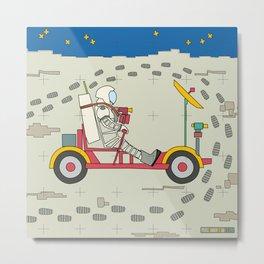 Moon Rover 1969 Metal Print