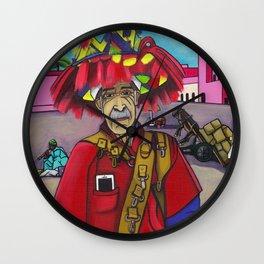 """""""Texte moi pour l'eau"""" Wall Clock"""