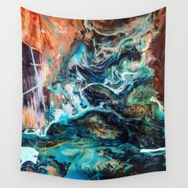 Cosmic river Wall Tapestry
