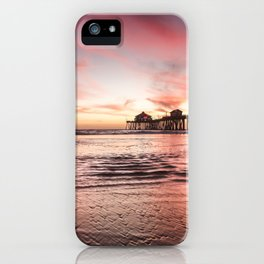 HB Sunsets 12-22-18 iPhone Case