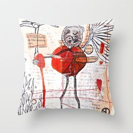 Our Deepest Feelings Throw Pillow