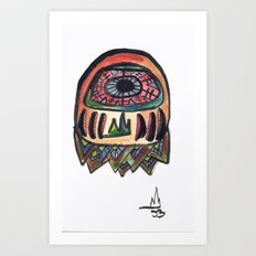 Mountain dreamer Art Print