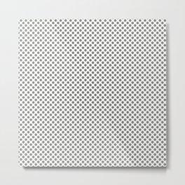 Moon Mist Polka Dots Metal Print