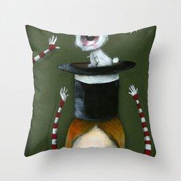 My little bunny Throw Pillow