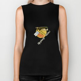 airplane rides-fifty cents Biker Tank