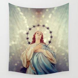 Holy Mary Wall Tapestry