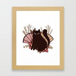 Japanese Kitty Framed Art Print