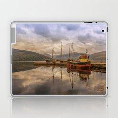 Evening at the Dock Laptop & iPad Skin