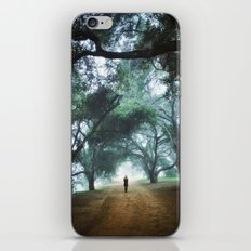 There goes Alice iPhone & iPod Skin