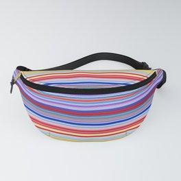 Rainbow Stripes Design Fanny Pack
