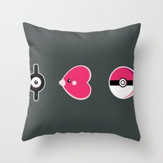 I Luv(disc) Pokémon Throw Pillow