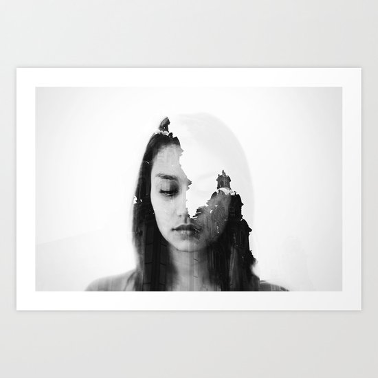 Invisible light. Art Print