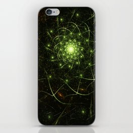 Kaos Entwined Flame Fractal iPhone Skin