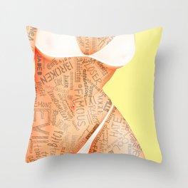 Teen Idle Throw Pillow