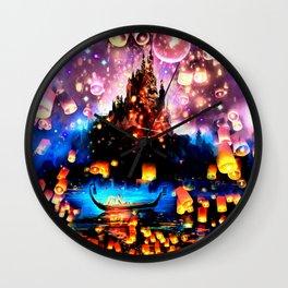 I See the Light  Wall Clock