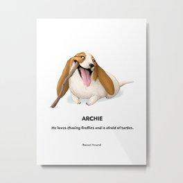 Archie Metal Print
