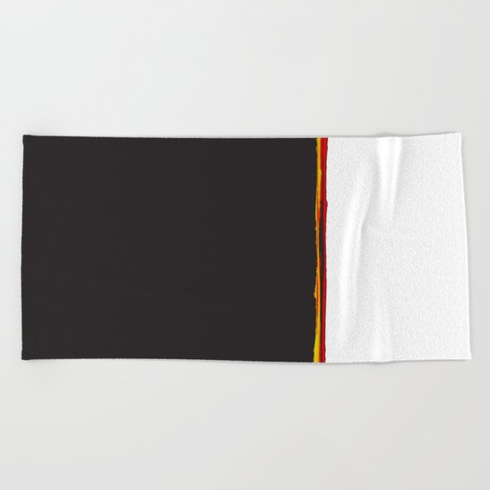 No Traveler Returns Beach Towel