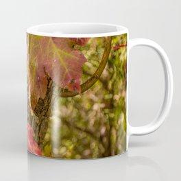 Red Leaves Enchantment Coffee Mug