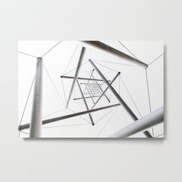 Infinite Geometry Metal Print