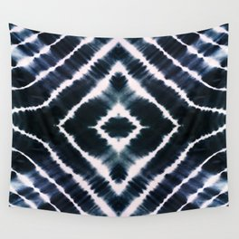 WAKE UP CALL INDIGO Wall Tapestry
