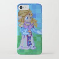 8bit iPhone & iPod Cases featuring 8bit Zelda by Cariann Dominguez
