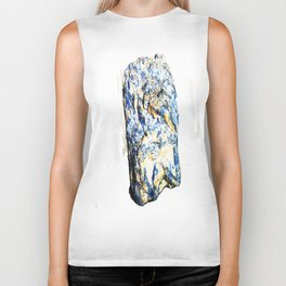 Kyanite crystall Gemstone Biker Tank