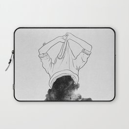 Its better to disappear. Laptop Sleeve