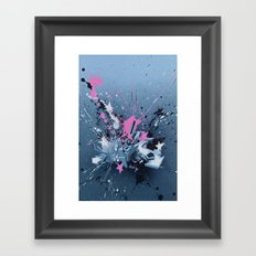 All directions - the fancy explosion Framed Art Print
