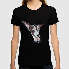 Mia the Italian Greyhound Dog T-shirt
