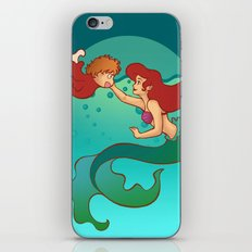 Daughters of Triton iPhone & iPod Skin