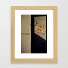 Morning Shadows Framed Art Print