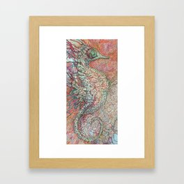 Siren's Ride Framed Art Print