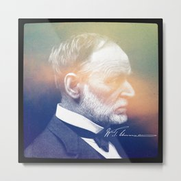 Reports from Hell. Sherman. 1820-1891. Metal Print