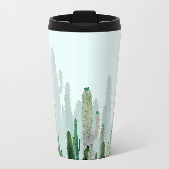 horizont cactus Metal Travel Mug