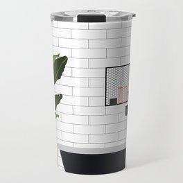 A minimal bathroom Travel Mug