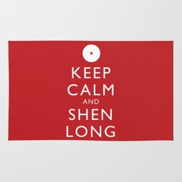 Keep Calm and Shen Long Rug