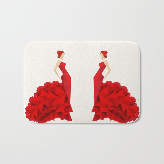 The Dancer (Flamenco) Bath Mat