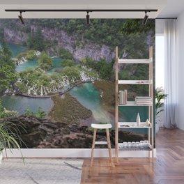 Pilitvice Lakes and Waterfalls, Croatia Wall Mural