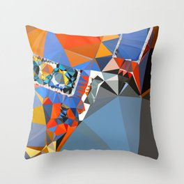 shape of my heart Throw Pillow