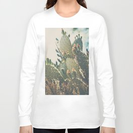 desert prickly pear cactus ... Long Sleeve T-shirt