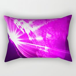 Pink laser Rectangular Pillow