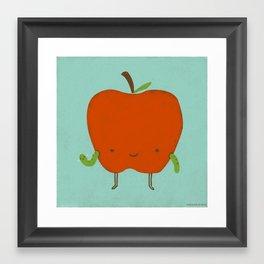 Apple Hi Framed Art Print