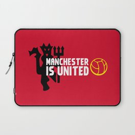 Manchester Is United Laptop Sleeve