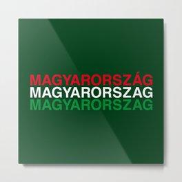 HUNGARY Metal Print