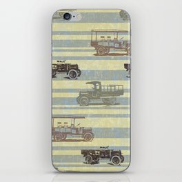 Vintage Truck Pattern iPhone Skin