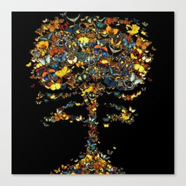 Atomic Butterfly Canvas Print